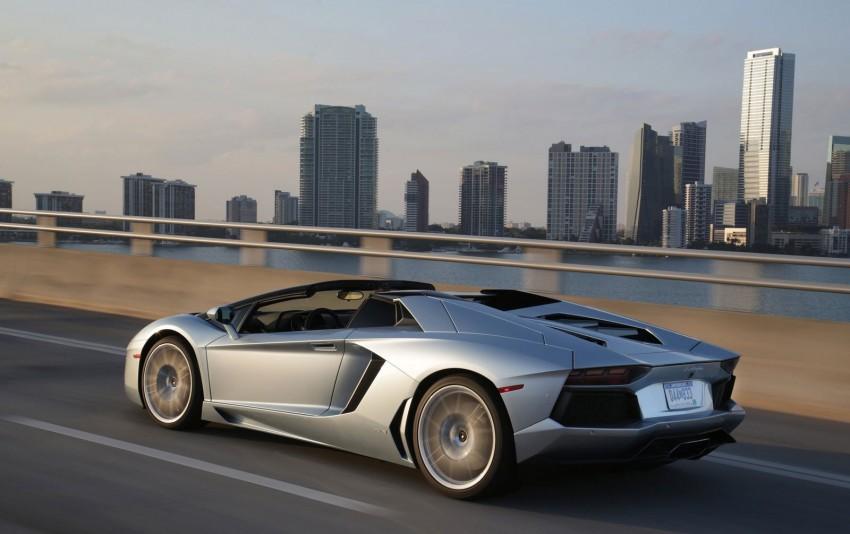 GALLERY: Lamborghini Aventador LP700-4 Roadster Image #157686