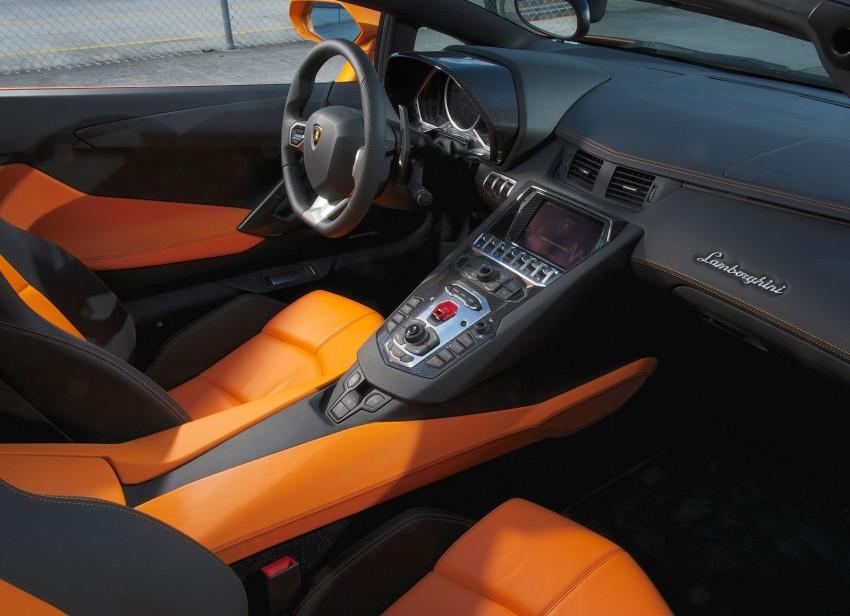 GALLERY: Lamborghini Aventador LP700-4 Roadster Image #157689