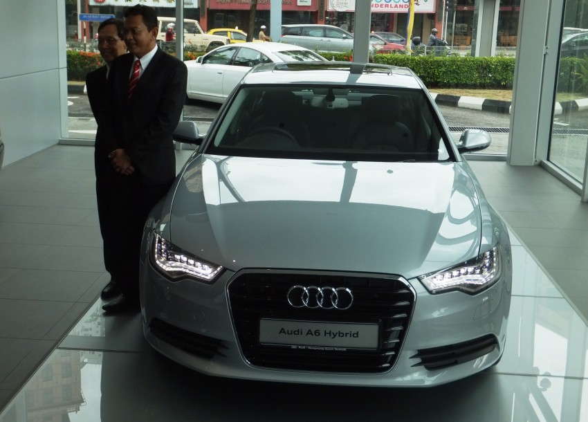 Audi A6 Hybrid officially launched – RM280k starting price, Comfort Key RM3k, reverse camera RM5k Image #157722