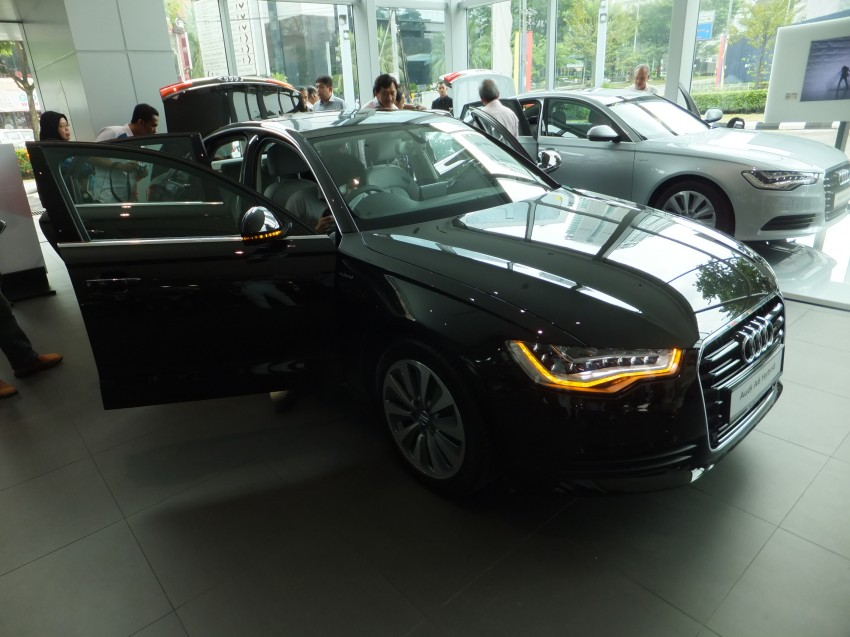 Audi A6 Hybrid officially launched – RM280k starting price, Comfort Key RM3k, reverse camera RM5k Image #157725