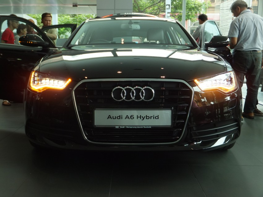 Audi A6 Hybrid officially launched – RM280k starting price, Comfort Key RM3k, reverse camera RM5k Image #157727