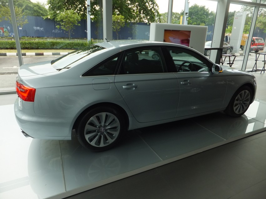 Audi A6 Hybrid officially launched – RM280k starting price, Comfort Key RM3k, reverse camera RM5k Image #157747