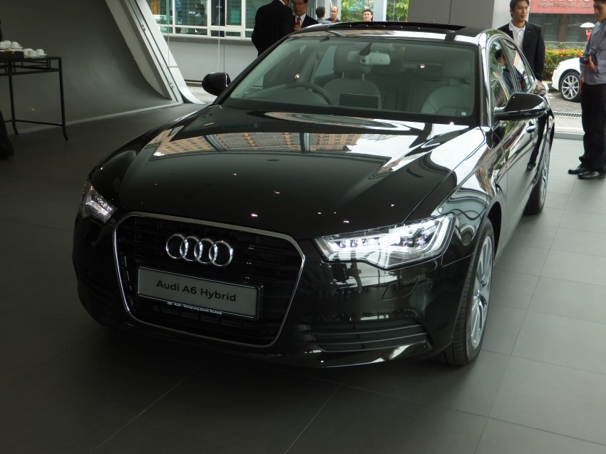 Audi A6 Hybrid officially launched – RM280k starting price, Comfort Key RM3k, reverse camera RM5k Image #157748