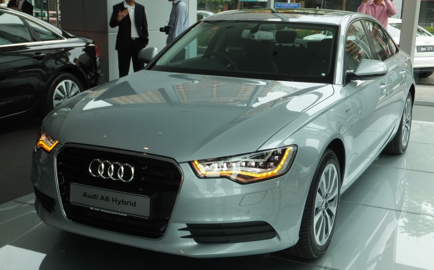 Audi A6 Hybrid officially launched – RM280k starting price, Comfort Key RM3k, reverse camera RM5k Image #157750