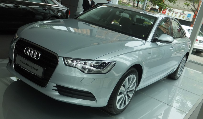 Audi A6 Hybrid officially launched – RM280k starting price, Comfort Key RM3k, reverse camera RM5k Image #157751