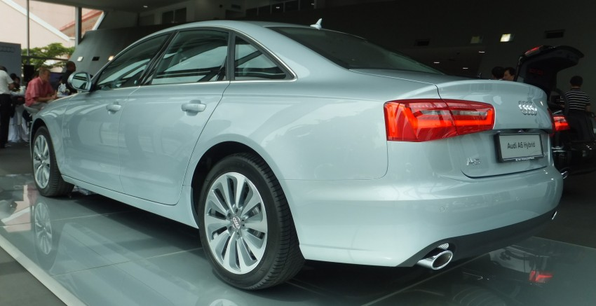Audi A6 Hybrid officially launched – RM280k starting price, Comfort Key RM3k, reverse camera RM5k Image #157752