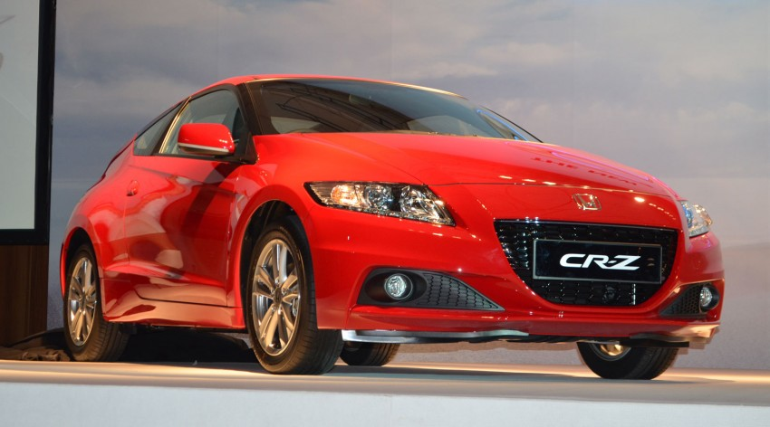 Honda CR-Z facelift launched – RM119k-RM123k Image #156258