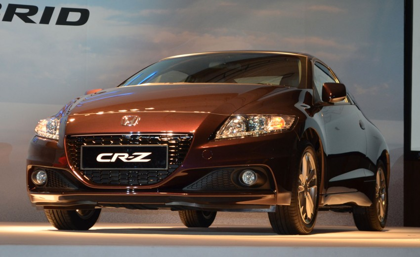 Honda CR-Z facelift launched – RM119k-RM123k Image #156259
