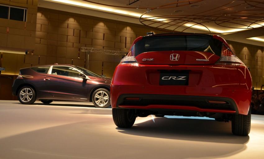 Honda CR-Z facelift launched – RM119k-RM123k Image #156262