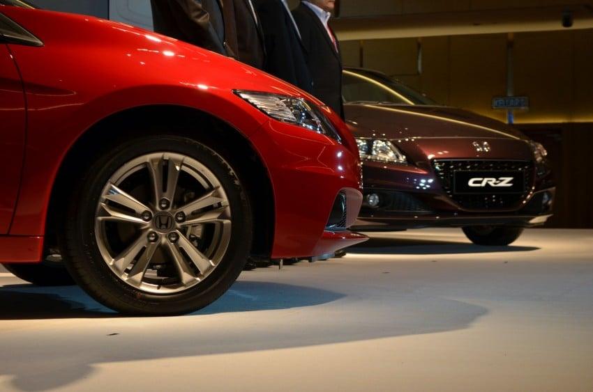 Honda CR-Z facelift launched – RM119k-RM123k Image #156263