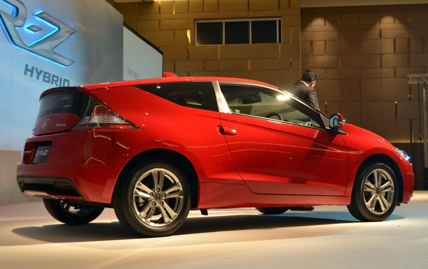 Honda CR-Z facelift launched – RM119k-RM123k Image #156264