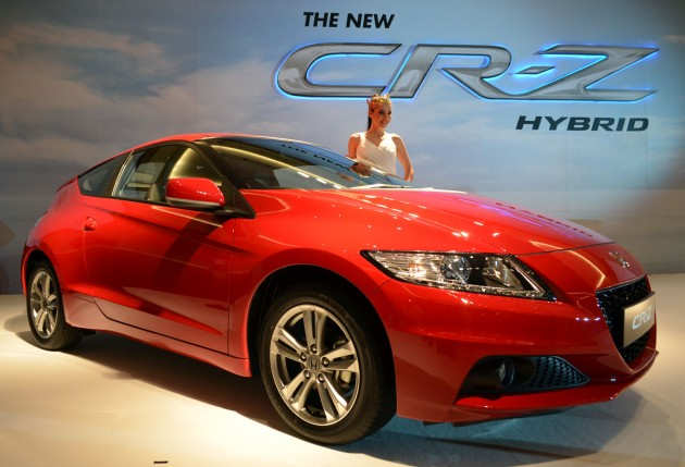 We Re Reporting Live From Setia City Convention Centre In Alam Where Honda Malaysia Has Launched The Cr Z Facelift Country