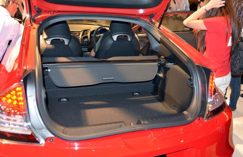 Honda CR-Z facelift launched – RM119k-RM123k Image #156278
