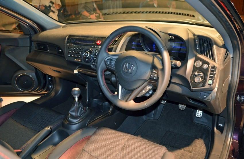 Honda CR-Z facelift launched – RM119k-RM123k Image #156284