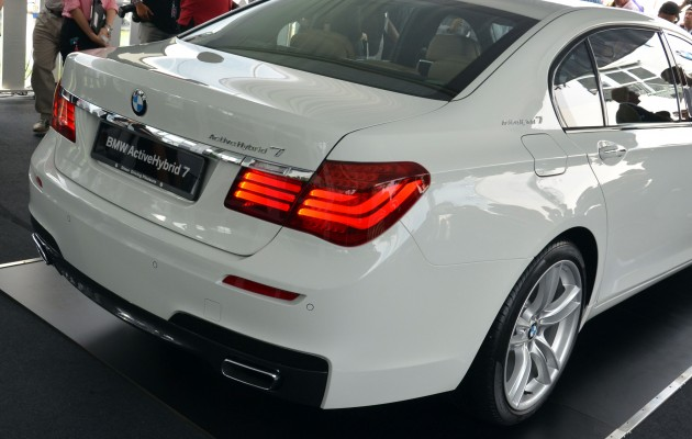 The AH 7L Also Gets Dressed Up With An M Sport Package As Standard Kit Comprising Aerodynamics Exterior Leather Steering