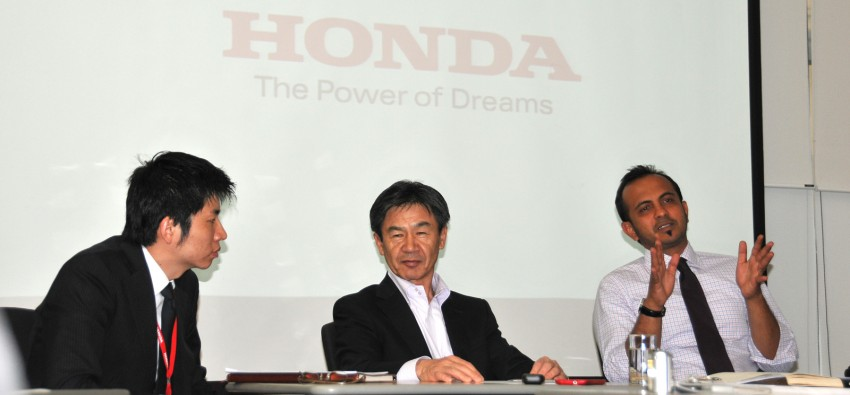 Delving into the details – interview with Norio Tomobe, Large Project Leader of the new facelifted Honda CR-Z Image #156754