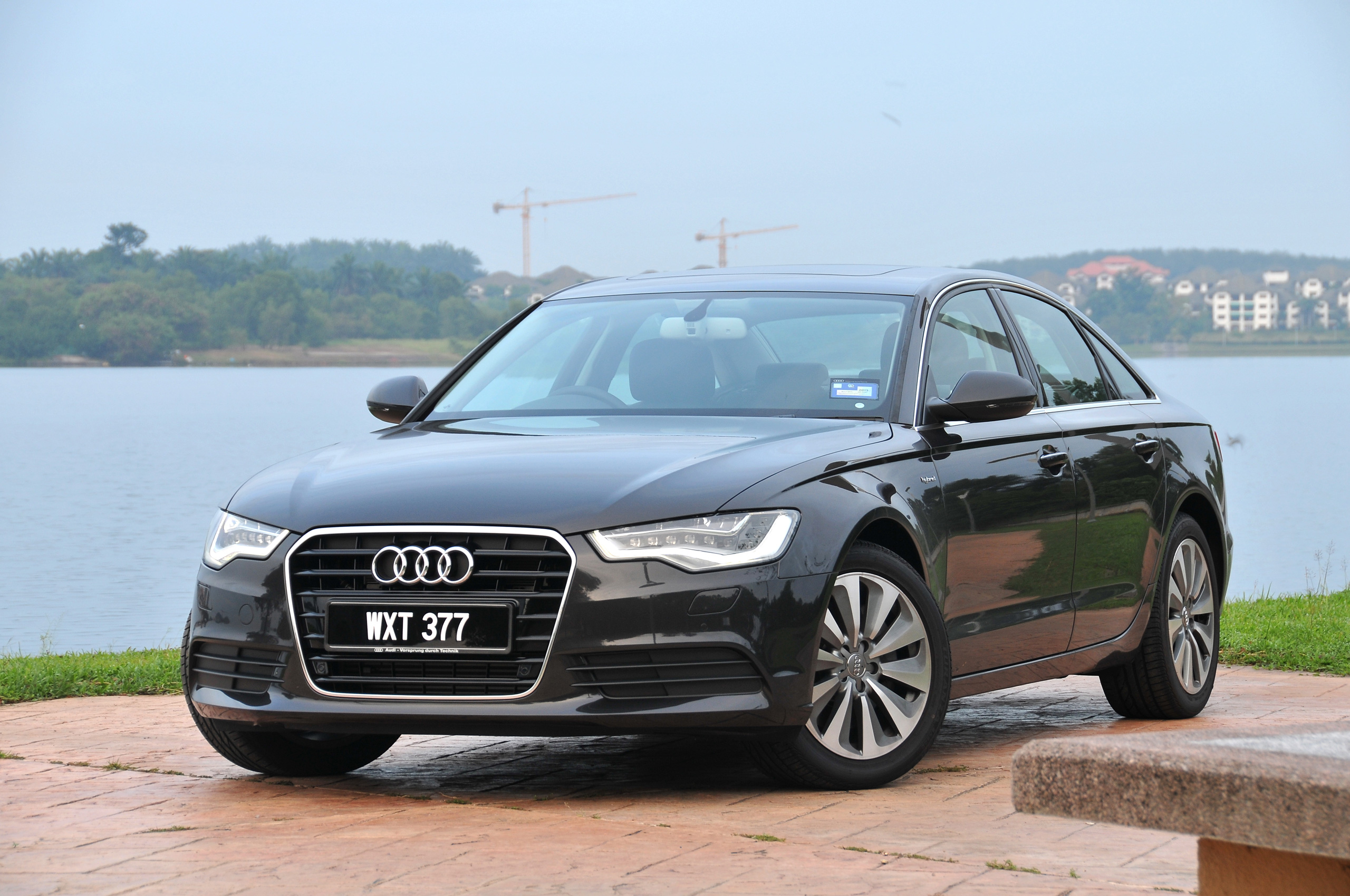 driven new audi a6 hybrid full test drive review sure. Black Bedroom Furniture Sets. Home Design Ideas