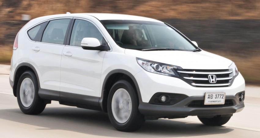 Honda CR-V – fourth-gen to be launched next week Image #158359