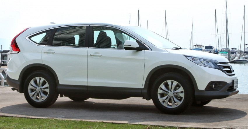Honda CR-V – fourth-gen to be launched next week Image #158361
