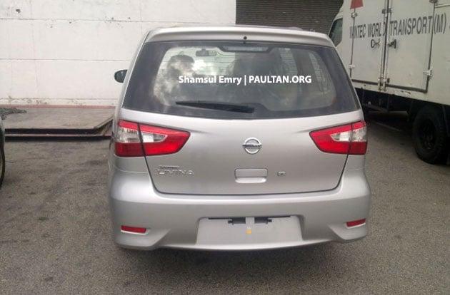 SPYSHOTS: Nissan Grand Livina facelift undisguised! Image #157276