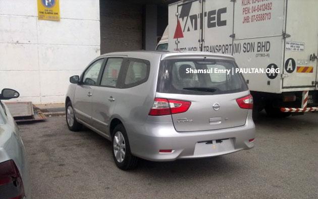 SPYSHOTS: Nissan Grand Livina facelift undisguised! Image #157277