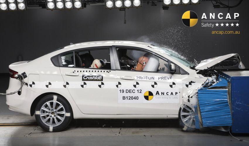 Proton Prevé achieves five-star ANCAP safety rating Image #157153