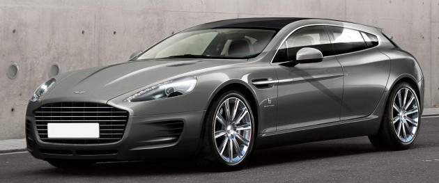 aston martin rapide shooting brake b