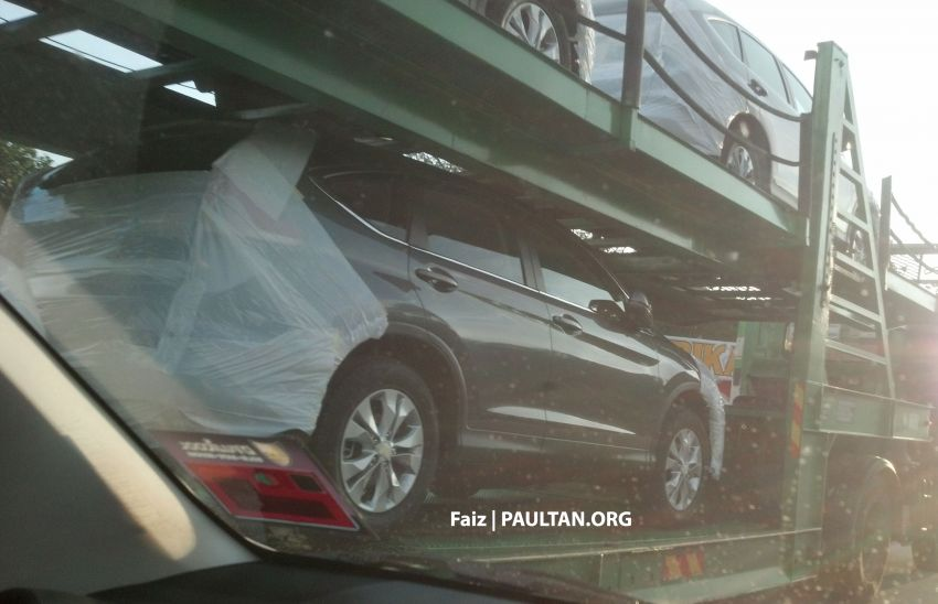 2013 Honda CR-V spotted on trailers, launching soon! Image #158636