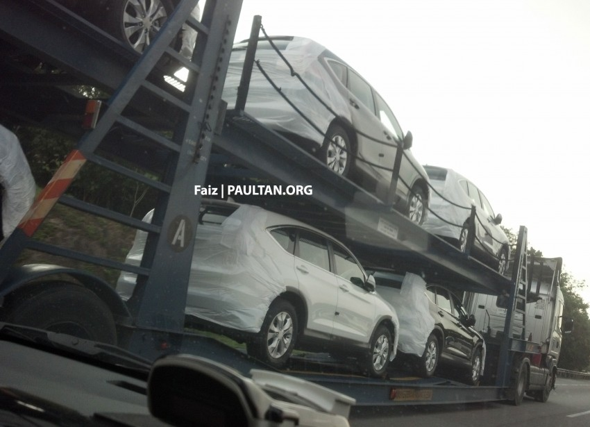 2013 Honda CR-V spotted on trailers, launching soon! Image #158638