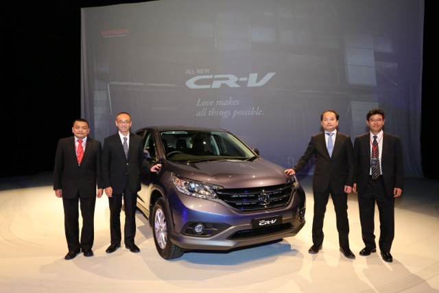 Honda CR-V launched – 2.0 litre, CKD, RM148,800 Image #159374