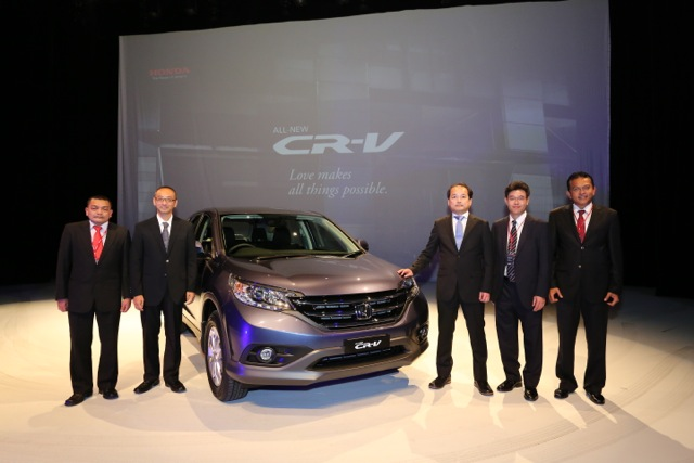 Honda CR-V launched – 2.0 litre, CKD, RM148,800 Image #159375