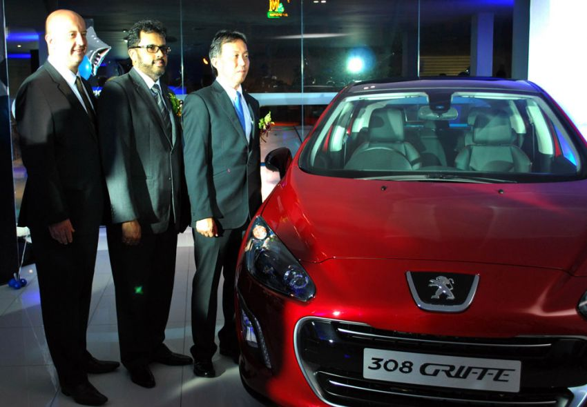 Nasim opens Peugeot Blue Box Butterworth 3S Centre, officially unveils limited edition 308 Griffe Image #159281