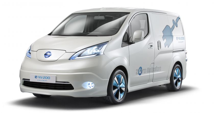 Nissan NV200: taxi, electric versions to make UK debut Image #162447