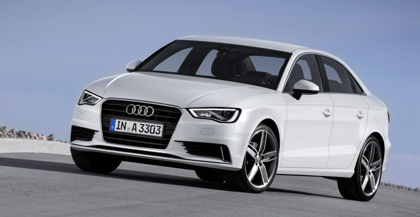 New Audi A3 Sedan and hot 300 hp S3 Sedan unveiled Image #164062