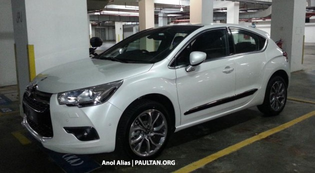 spyshots citroen ds4 dsport thp 200 manual seen in putrajaya. Black Bedroom Furniture Sets. Home Design Ideas