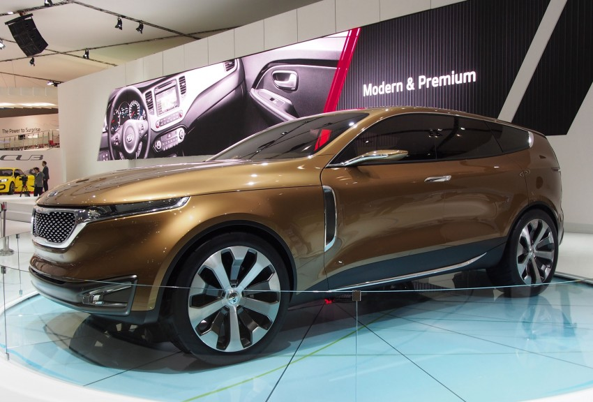 Kia Cross GT Concept – live images from Seoul 2013 Image #164685