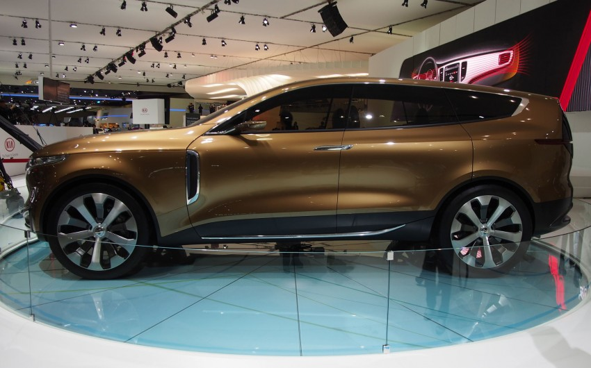 Kia Cross GT Concept – live images from Seoul 2013 Image #164686