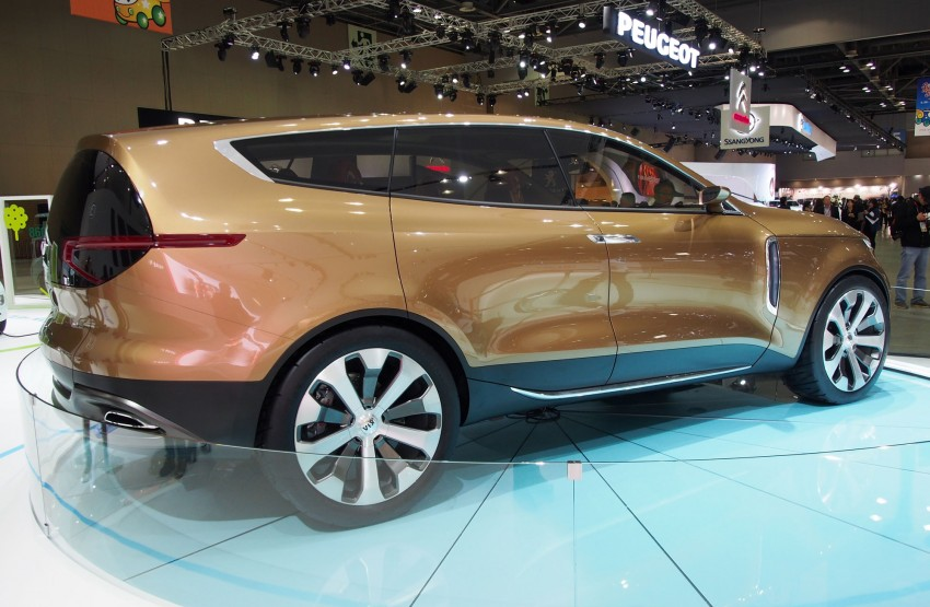 Kia Cross GT Concept – live images from Seoul 2013 Image #164691