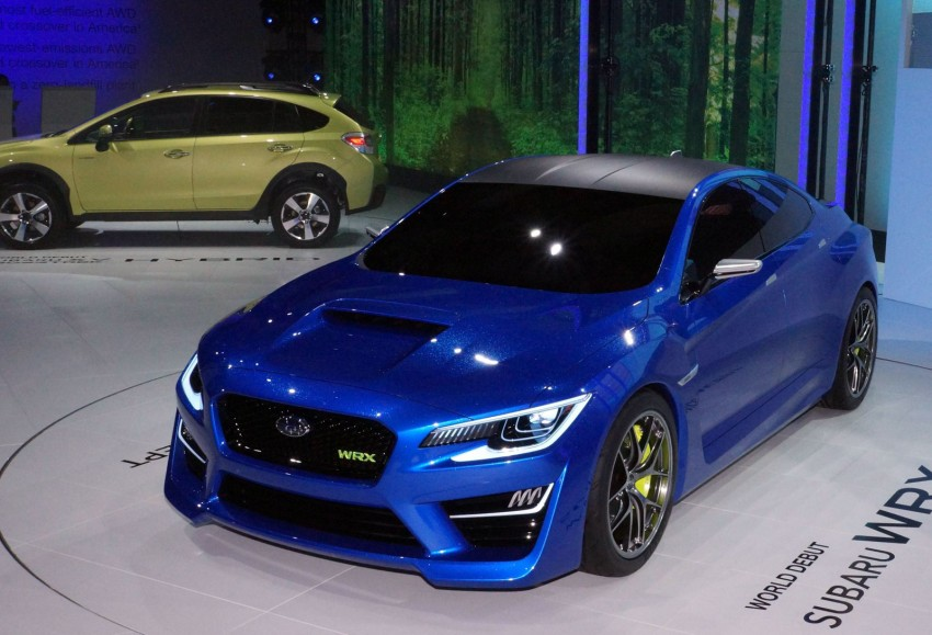 Subaru WRX Concept – NYC showcar hints at next gen Image #165084
