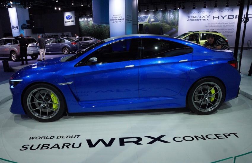 Subaru WRX Concept – NYC showcar hints at next gen Image #165085