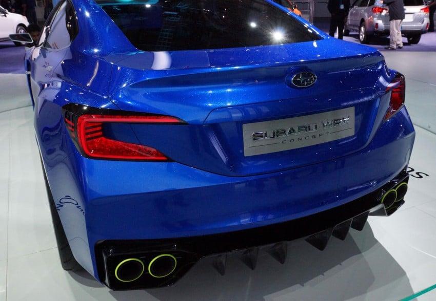 Subaru WRX Concept – NYC showcar hints at next gen Image #165086