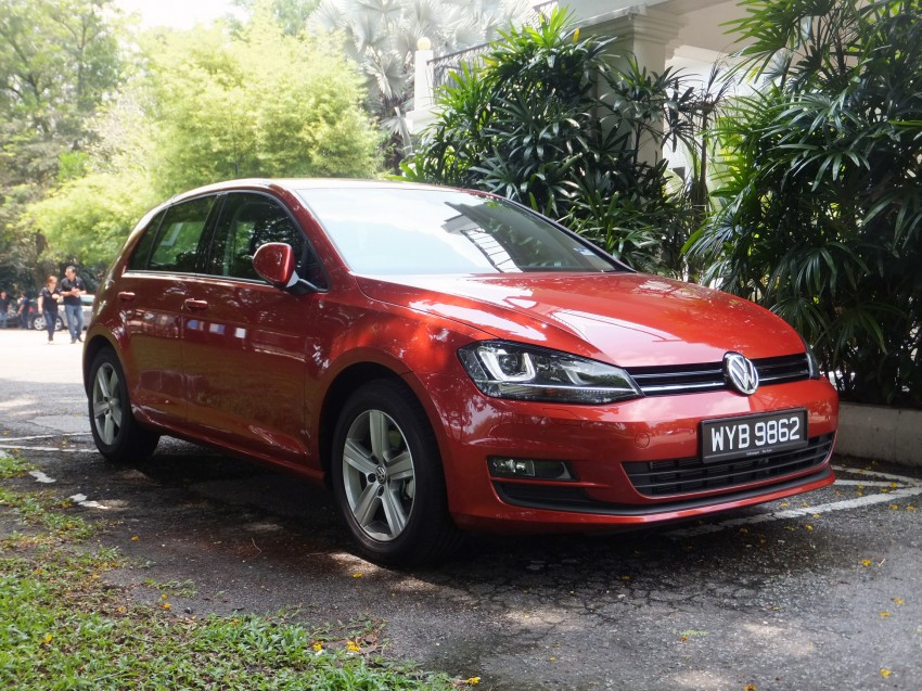 Volkswagen Golf Mk7 1.4 TSI introduced – RM158k Image #161739