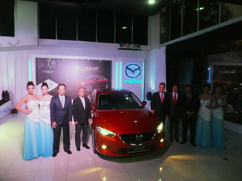 Mazda 6 officially launched – 2.0 sedan priced at RM159k, 2.5 sedan at RM190k, 2.5 Touring at RM194k Image #162737