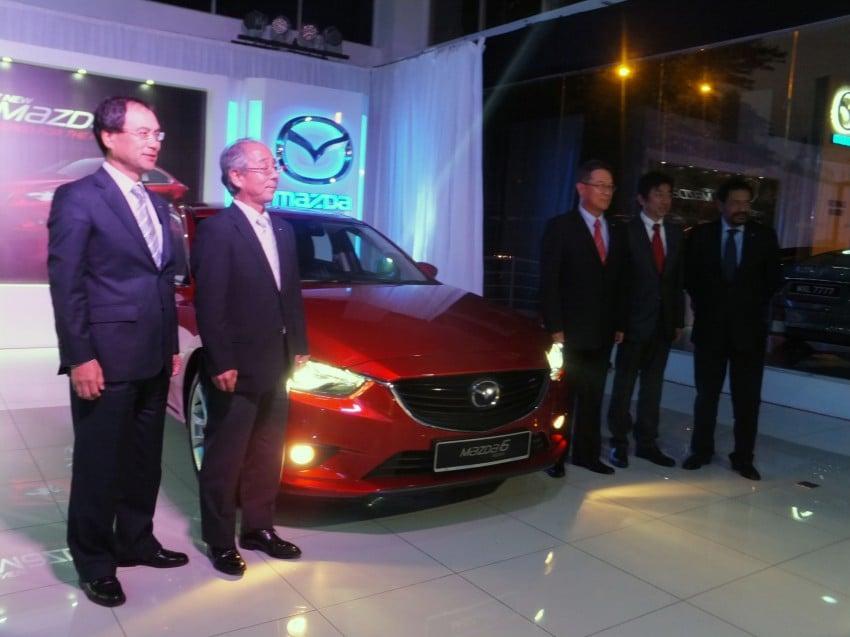 Mazda 6 officially launched – 2.0 sedan priced at RM159k, 2.5 sedan at RM190k, 2.5 Touring at RM194k Image #162740