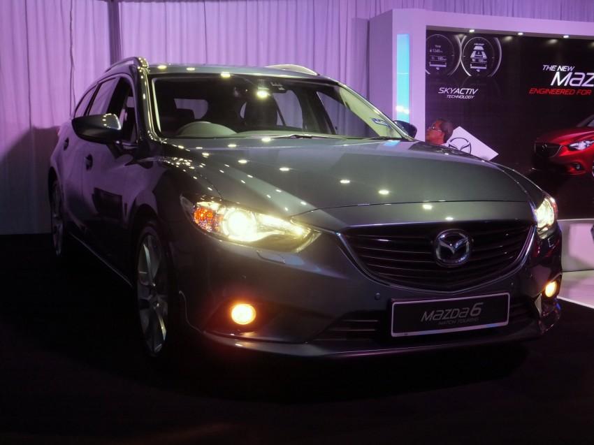 Mazda 6 officially launched – 2.0 sedan priced at RM159k, 2.5 sedan at RM190k, 2.5 Touring at RM194k Image #162747