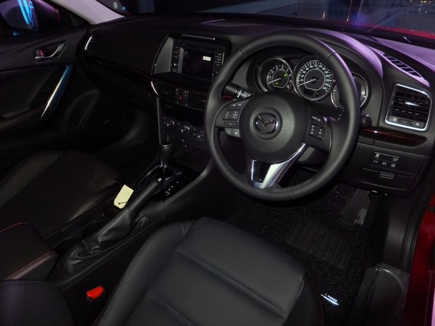 Mazda 6 officially launched – 2.0 sedan priced at RM159k, 2.5 sedan at RM190k, 2.5 Touring at RM194k Image #162748