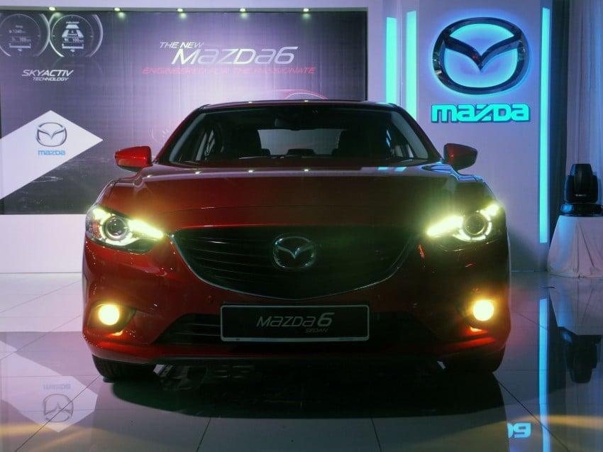 Mazda 6 officially launched – 2.0 sedan priced at RM159k, 2.5 sedan at RM190k, 2.5 Touring at RM194k Image #162749
