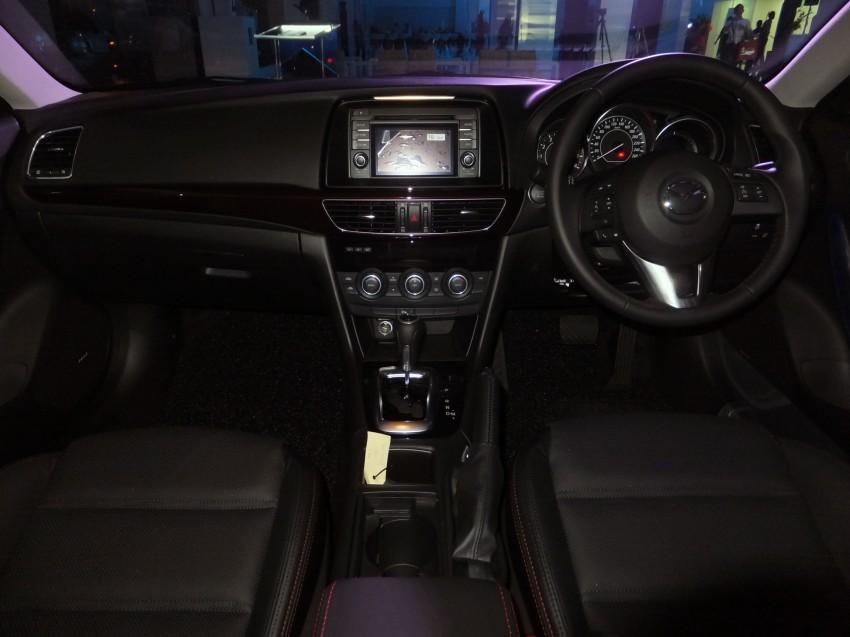 Mazda 6 officially launched – 2.0 sedan priced at RM159k, 2.5 sedan at RM190k, 2.5 Touring at RM194k Image #162750