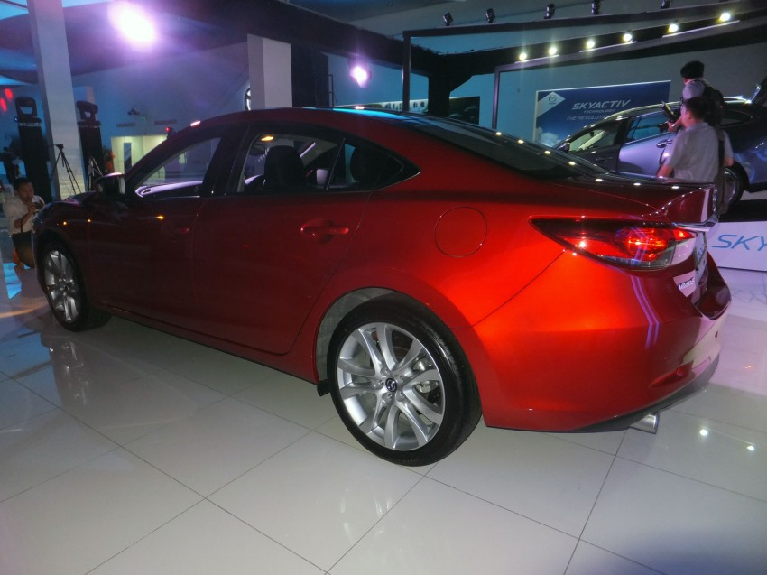 Mazda 6 officially launched – 2.0 sedan priced at RM159k, 2.5 sedan at RM190k, 2.5 Touring at RM194k Image #162751