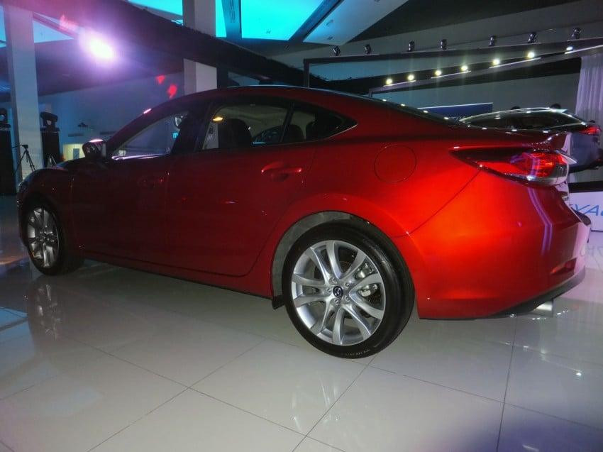 Mazda 6 officially launched – 2.0 sedan priced at RM159k, 2.5 sedan at RM190k, 2.5 Touring at RM194k Image #162752